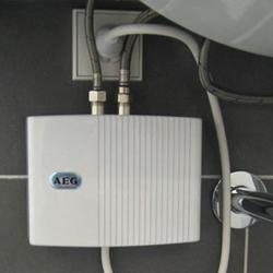 Монтаж проточных водонагревателей.