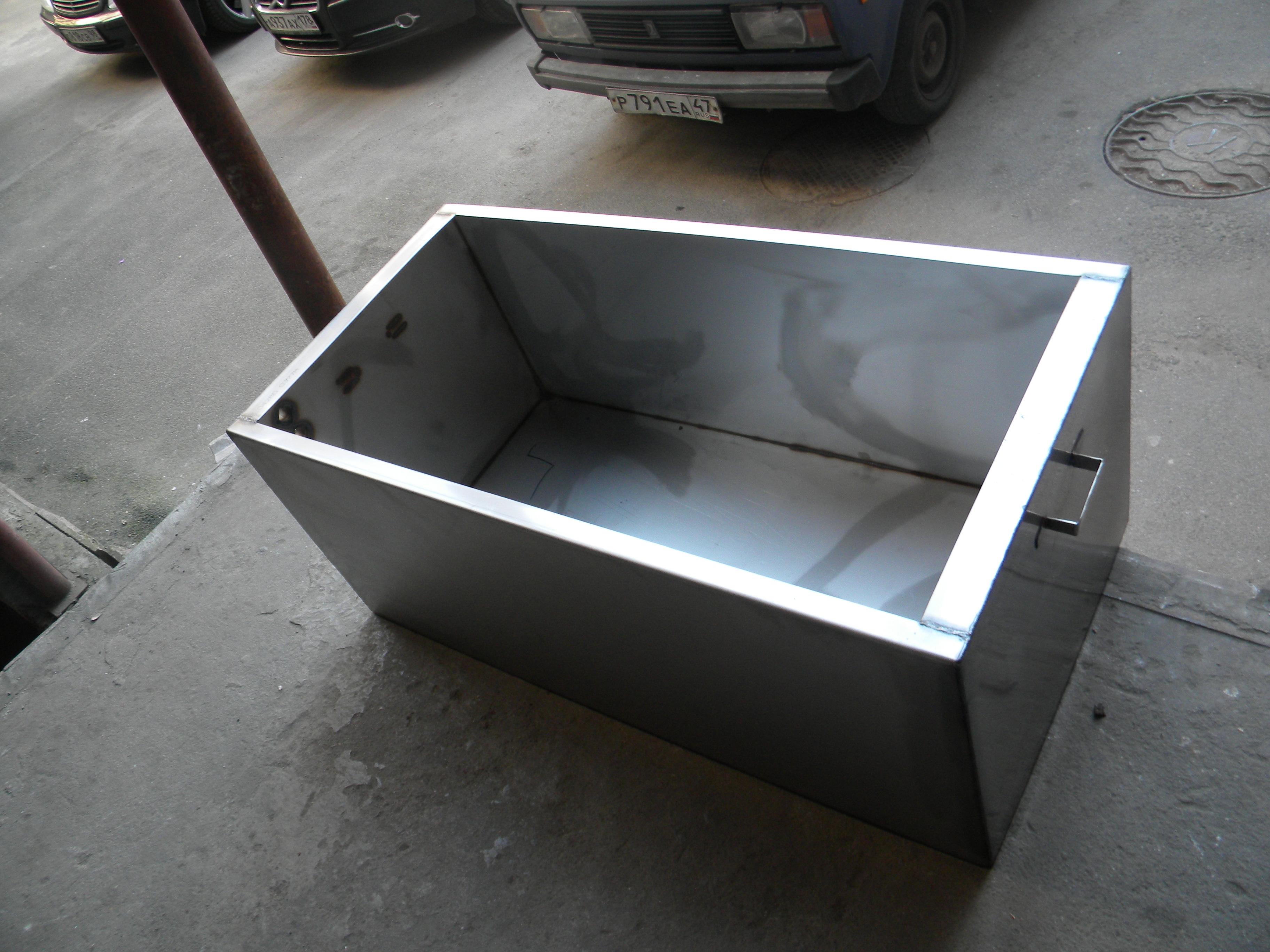 Бак для воды своими руками из металла чертежи 487